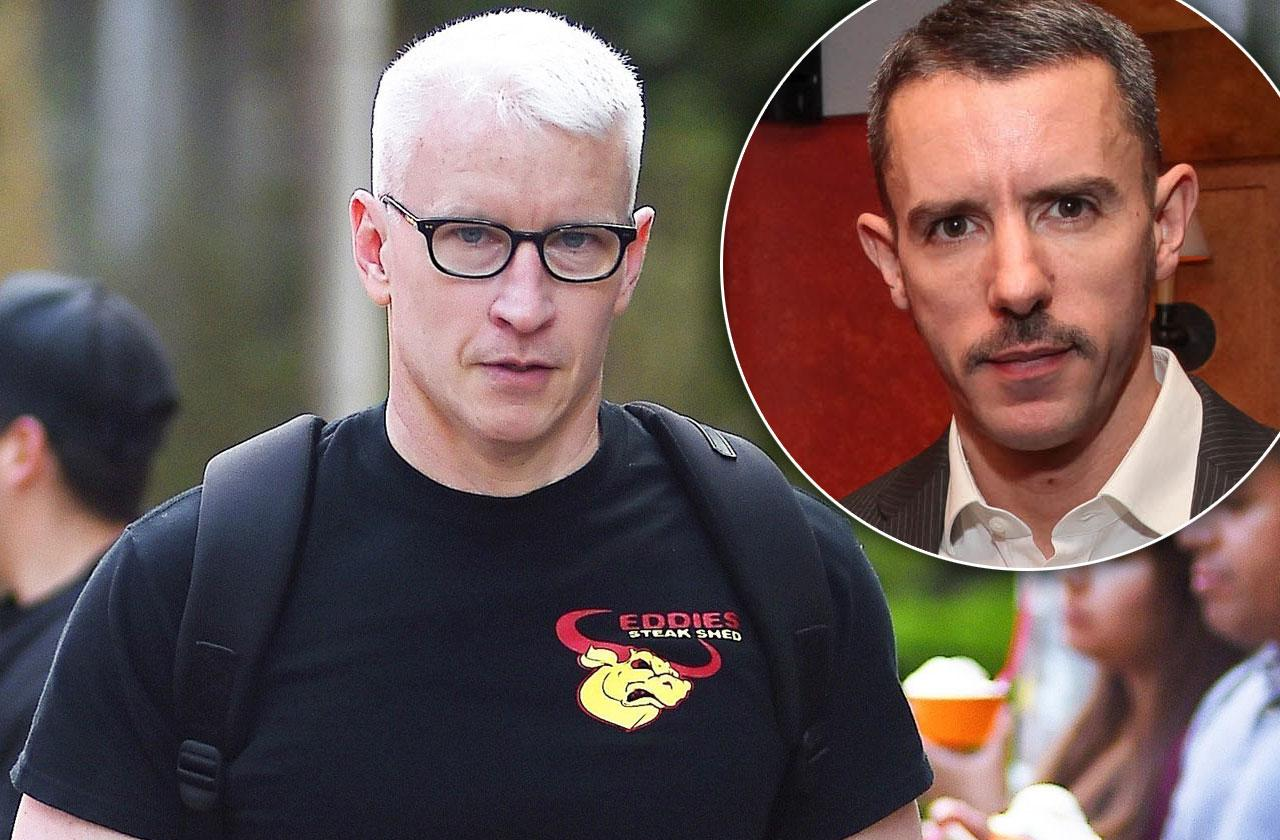 //Anderson Cooper Ex Spends Night Naked Man pp