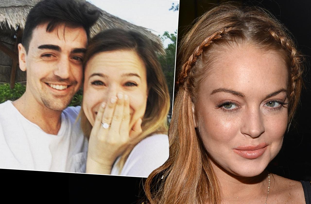 Lindsay Lohan Brother Wedding Invitation