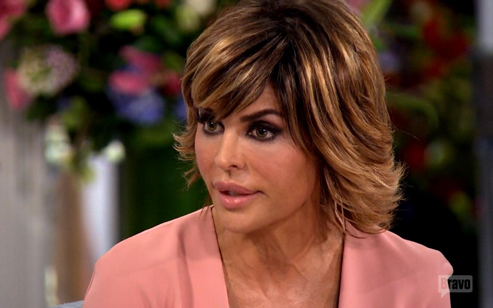//lisa rinna phone records yolanda hadid walk off rhobh