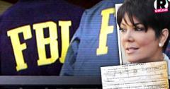 //kris jenner fbi raid death threats four seasons  pp sl