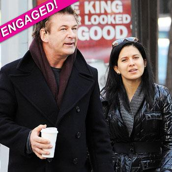 //alec baldwin engaged splash