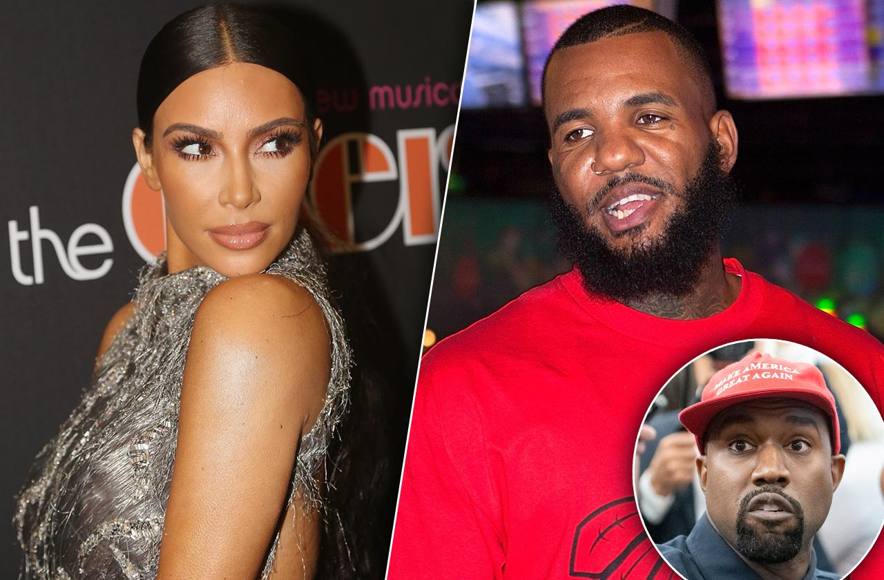 The Game Raps About Choking Kanye West's Wife Kim Kardashian During Sex