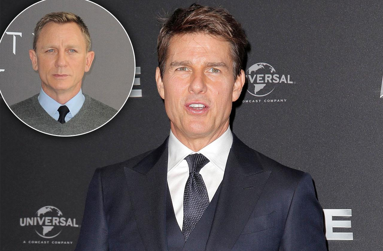 Tom Cruise Competitive With Daniel Craig