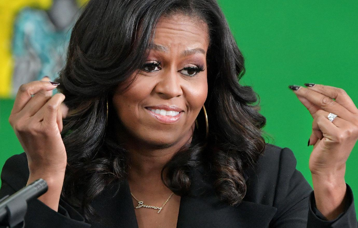//michelle obama shocks audience by using the s word