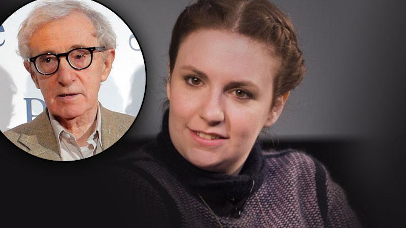 Lena Dunham Woody Allen
