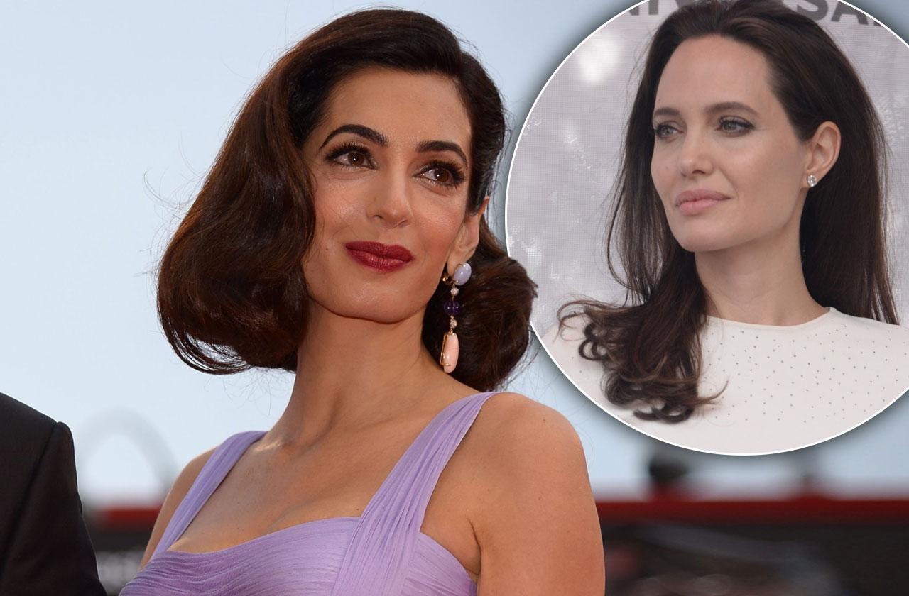 Amal Clooney Snubs Angelina Jolie's Olive Branch