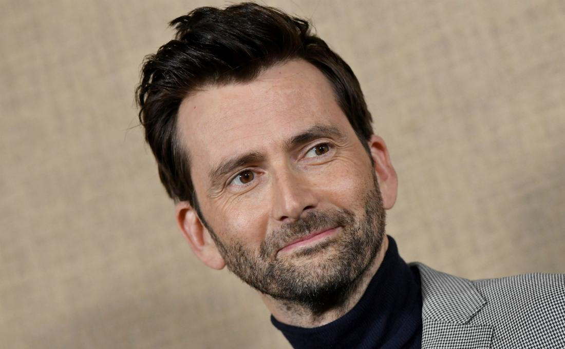 David Tennant attended the Los Angeles premiere of HBO series 'Camping' at Paramount Studios on October 10, 2018 in Hollywood, California.
