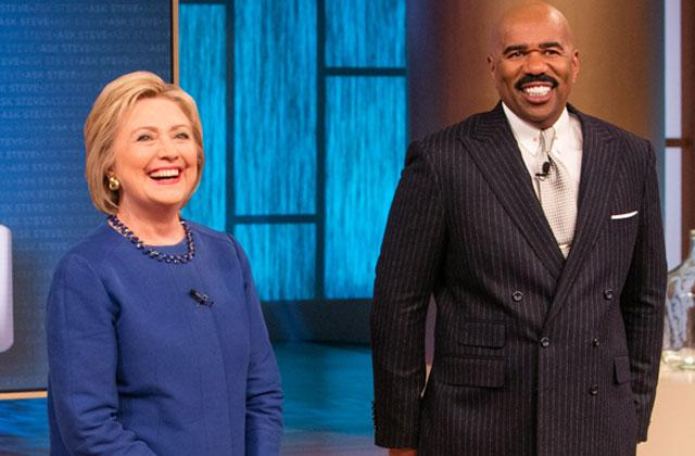 //hillary clinton steve harvey leaked memo reveals campaign scripted interview pp