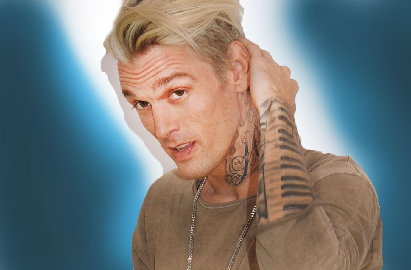 Aaron Carter Hospitalized After Being Body Shamed By Fans