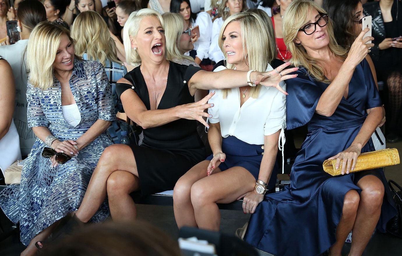 RHONY Stars Cause Ruckus At Fashion Show