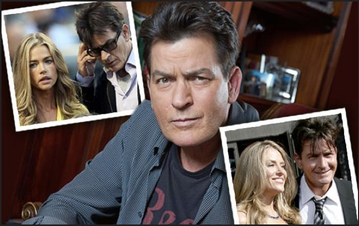 //charlie sheen hiv secrets interview denise richards brooke mueller