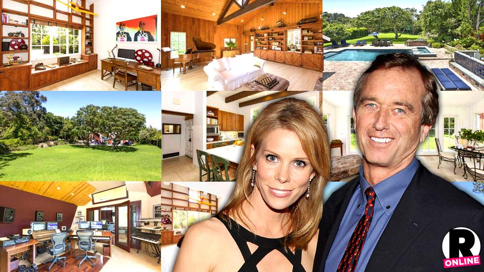 //newlyweds cheryl hines and robert f kennedy jr buy gorgeous m malibu compound pp sl