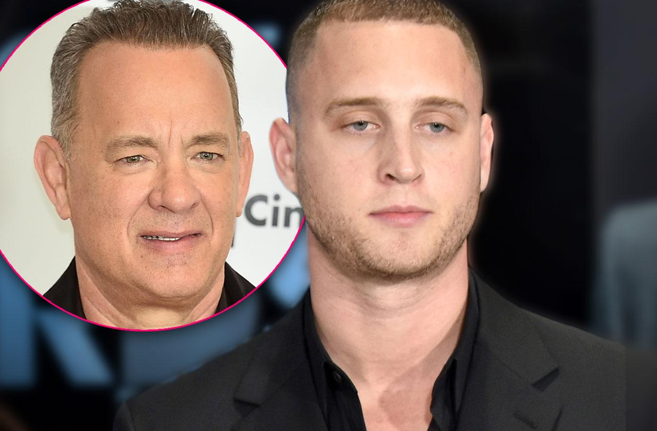 //chet hanks tom hanks son two years sober pp