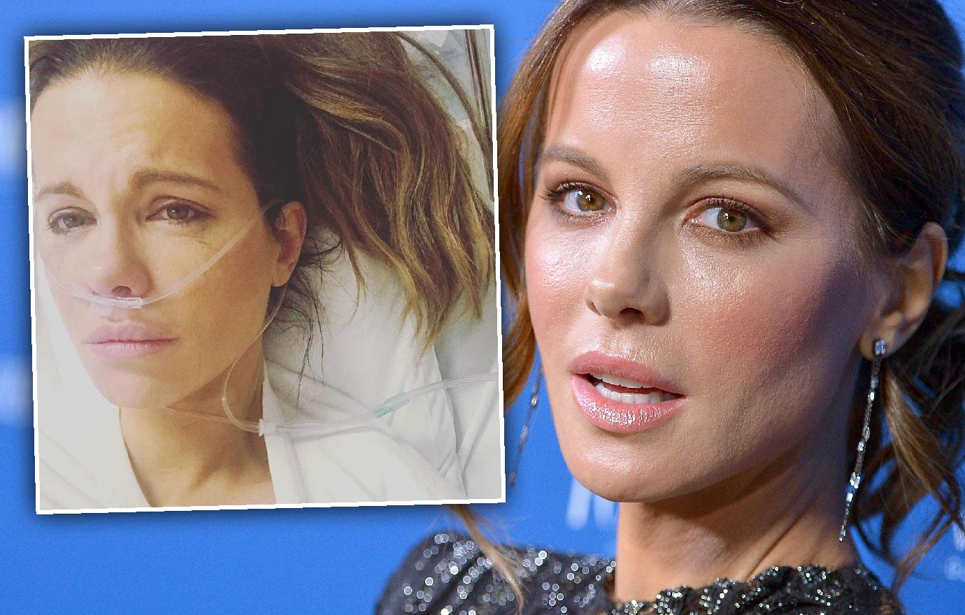 Kate Beckinsale Hospitalized Ruptured Ovarian Cyst