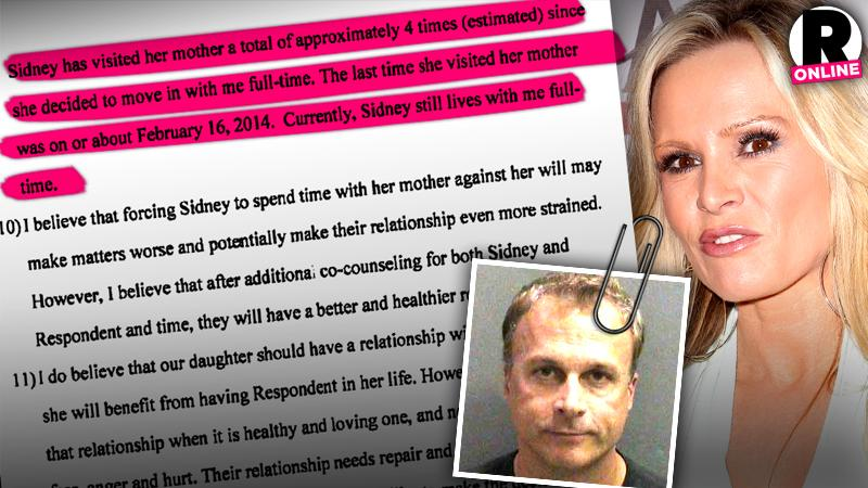 //simon barney slams tamra judge claims only seen daughter sidney once rhoc pp sl