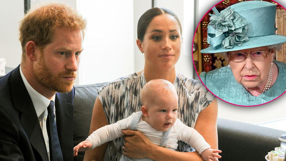 Royal Rift! Meghan & Prince Harry Reveal Christmas Card As Queen Snubs Them