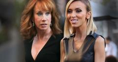 Giuliana Rancic Diva Antics - Forced Kathy Griffin To Quit