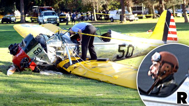 Harrison Ford Crash Engine Failure Call