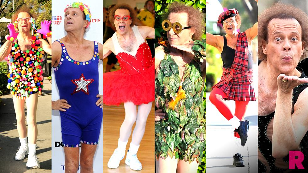 //richard simmons most outrageous looks of all time pp sl