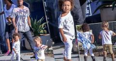 Kanye West North Penelope Photos