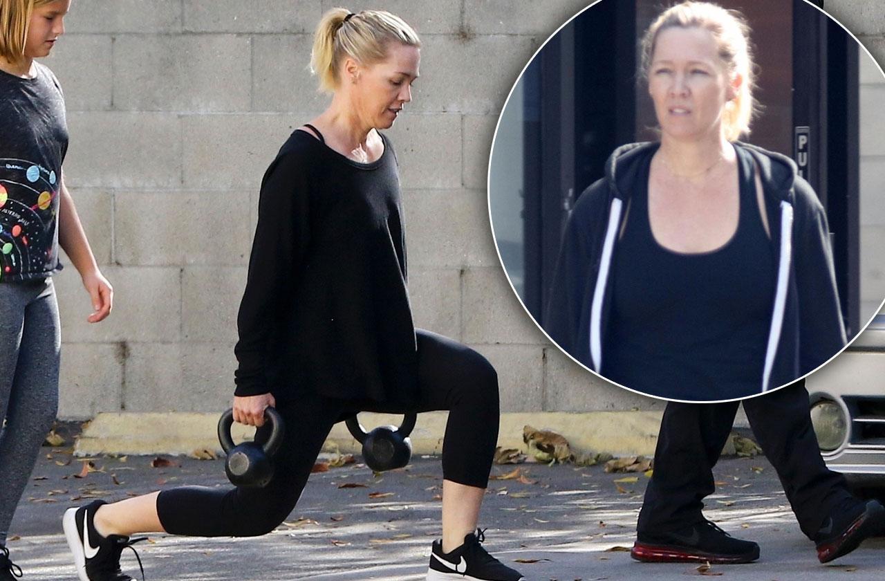 Jennie Garth workout regimen post breakup body