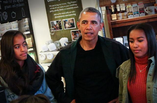 Obama Daughters School Sex scandal