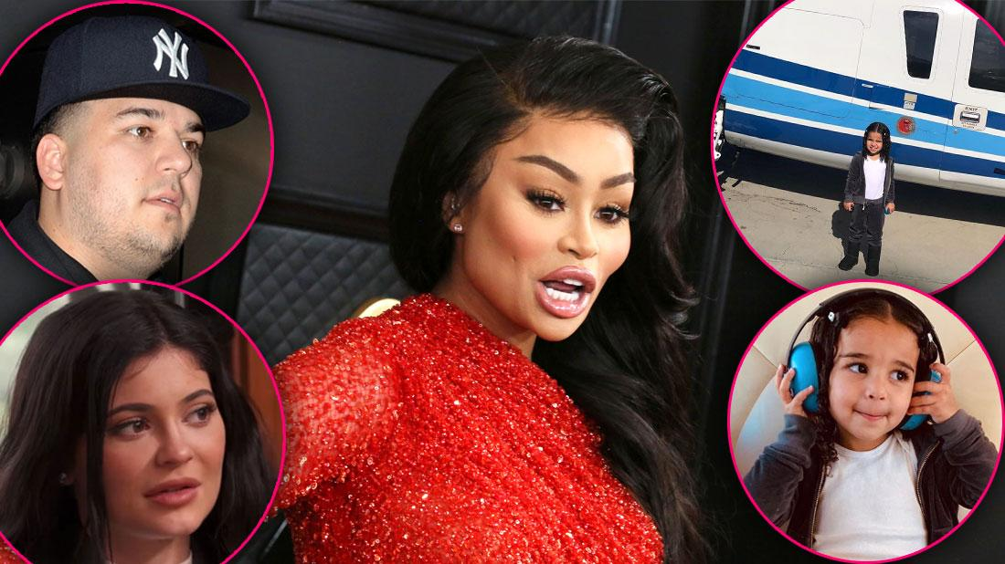 Blac Chyna Slams Rob Kardashian & Kylie Jenner For Taking Dream On Helicopter Ride Before Kobe Bryant Crash