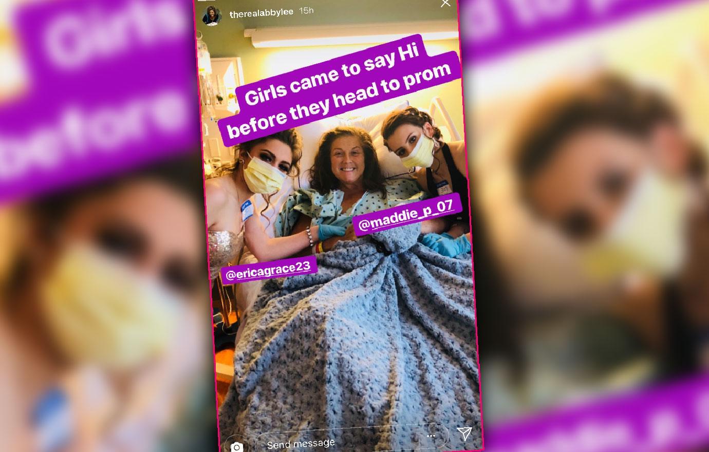 Cancer-Stricken Abby Lee Miller Gets Hospital Visit From Dance Girls