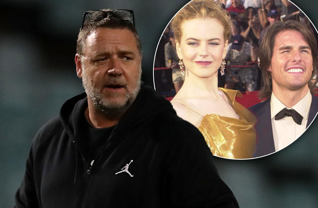Russell Crowe Tom Cruise Nicole Kidman Divorce Hard