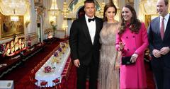 Brad Pitt, Angelina Jolie Have Tea With Prince William, Kate Middleton