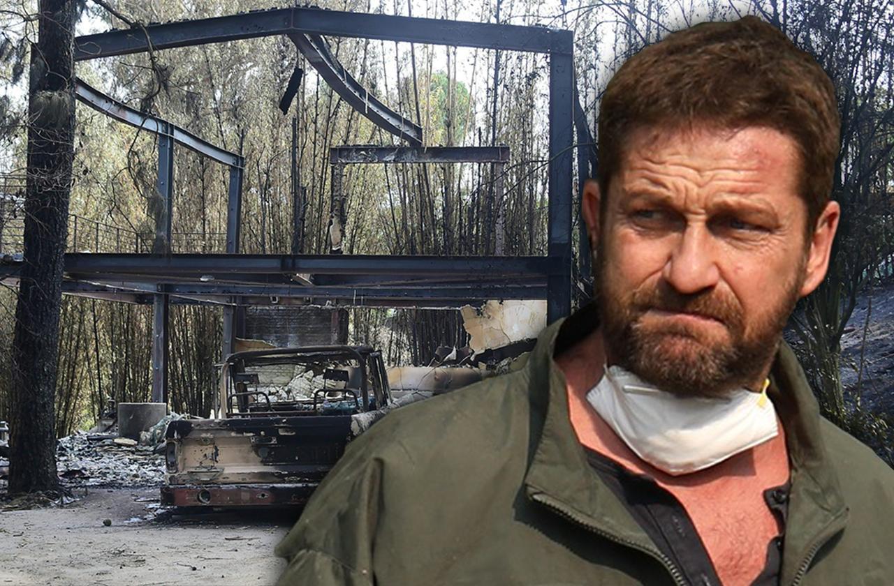 Gerard Butler Malibu Home Fire Fundraiser