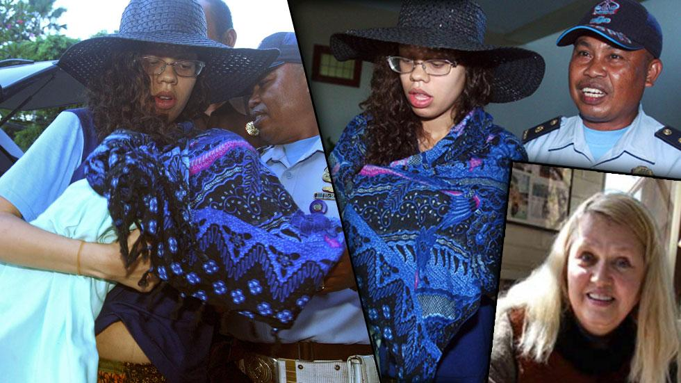 Bali Suitcase Murder -- Heather Mack Leaves Hospital With Baby For Jail