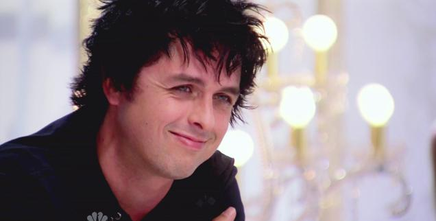 Bille Joe Armstrong of Green Day