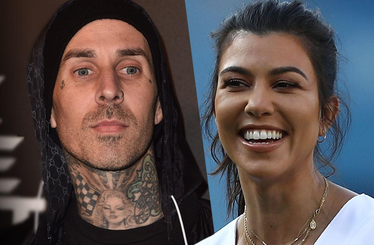 kourtney kardashian family beg date travis barker younes bendjima split
