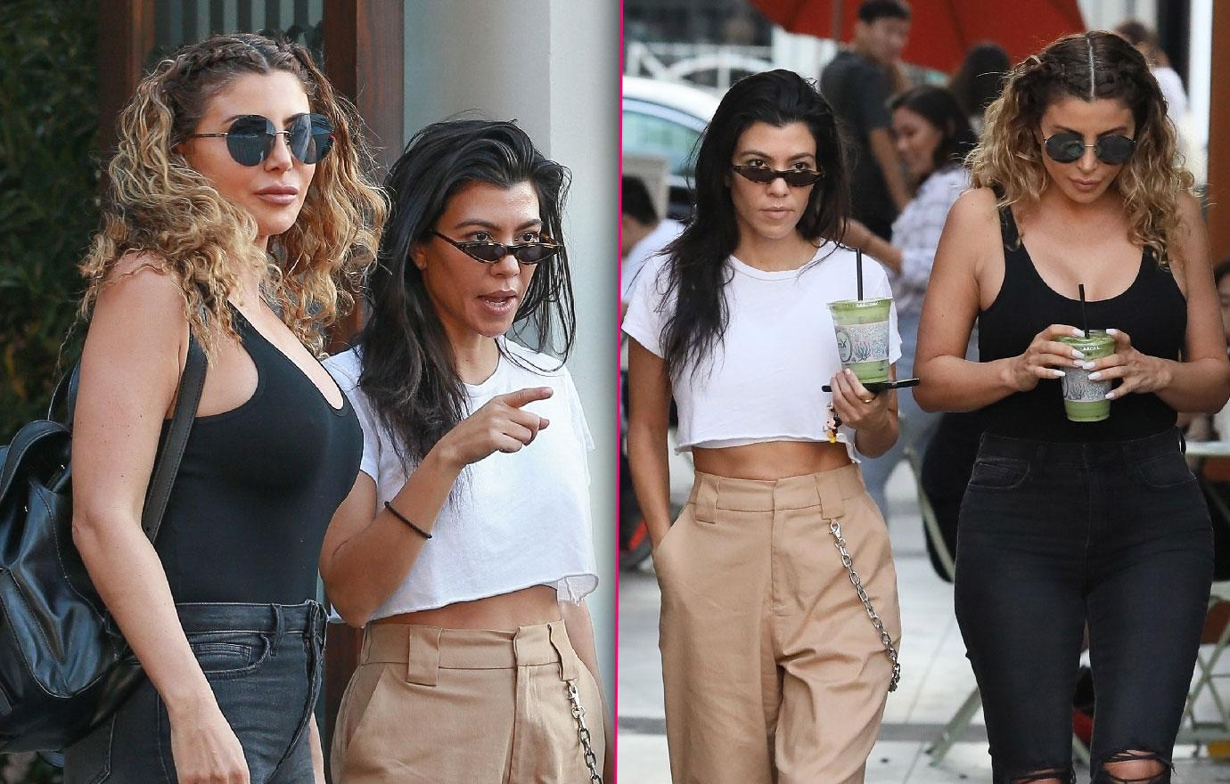 Kourtney Kardashian And Larsa Pippen Have Fun Date