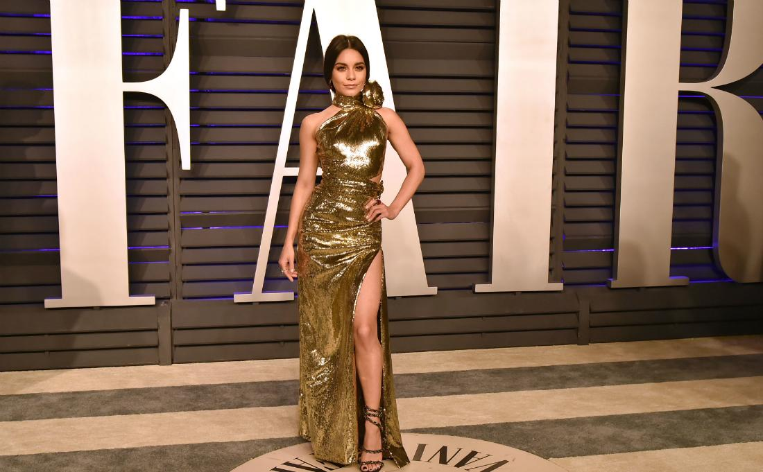 Vanessa Hudgens attended the 2019 Vanity Fair Oscar Party at Wallis Annenberg Center for the Performing Arts on February 24, 2019 in Beverly Hills, California.