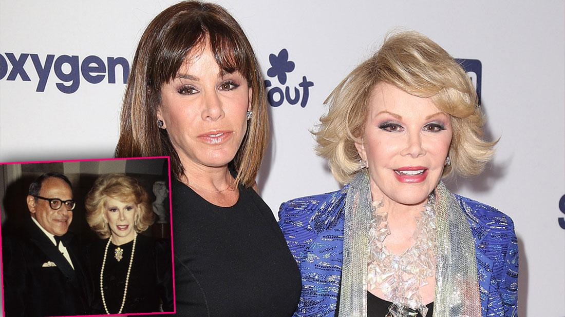 Joan Rivers & Daughter's Relationship Shattered After Husband's Suicide