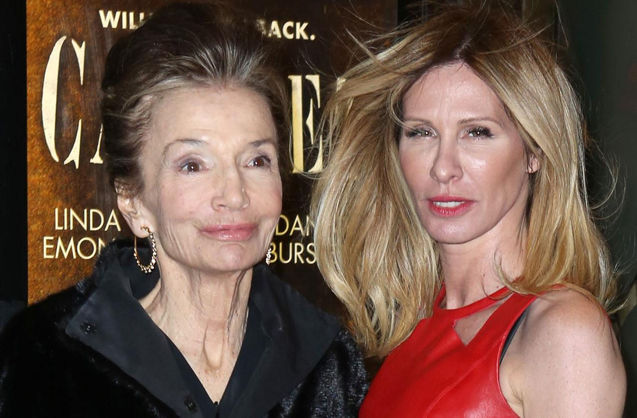 rhony carole Radziwill mourns death mother in law