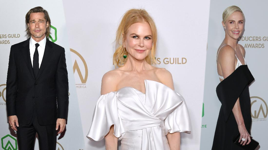 Stars Dazzle At Producers Guild Awards Fashion Police