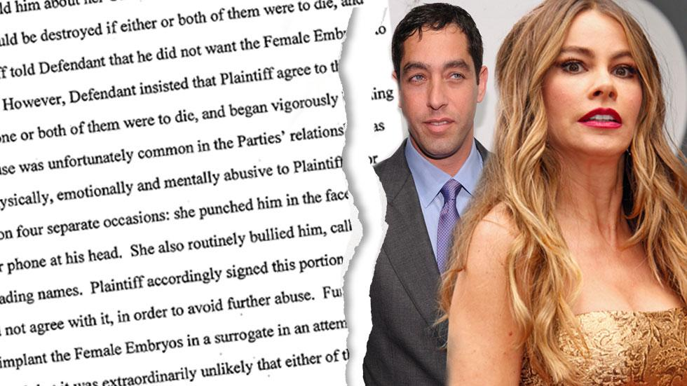 Sofia Vergara Physical Abuse Bullying Nick Loeb
