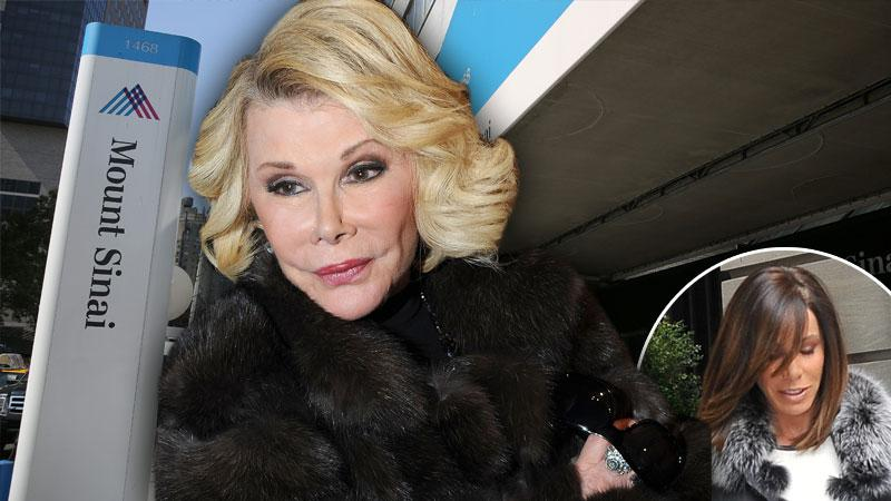 //joan rivers mt sinai melissa rivers