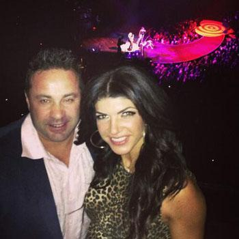 Teresa and 'Honey' Joe Giudice Have Date Night at Pink Concert