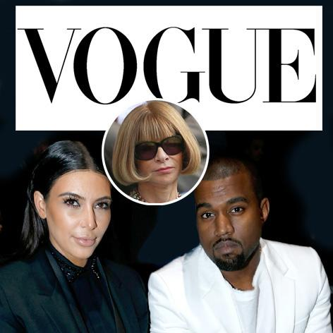 //kim kardashian kanye west vogue square getty