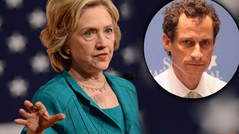 Anthony Weiner Hillary Clinton Fundraiser
