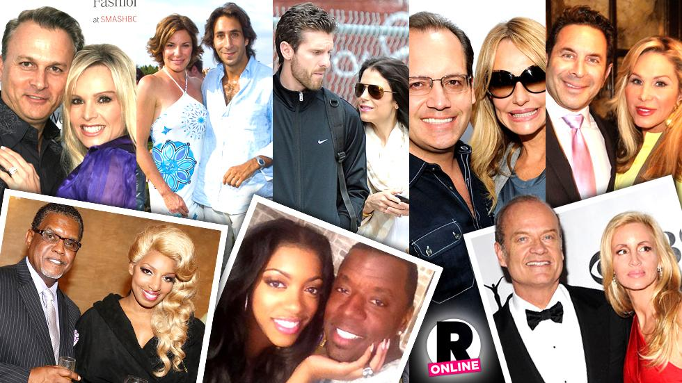 // real housewives couples splits divorces pp sl