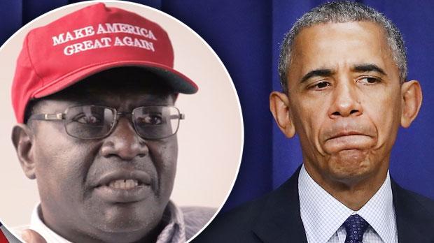 malik obama barack obama half brother Donald trump defeat isis video