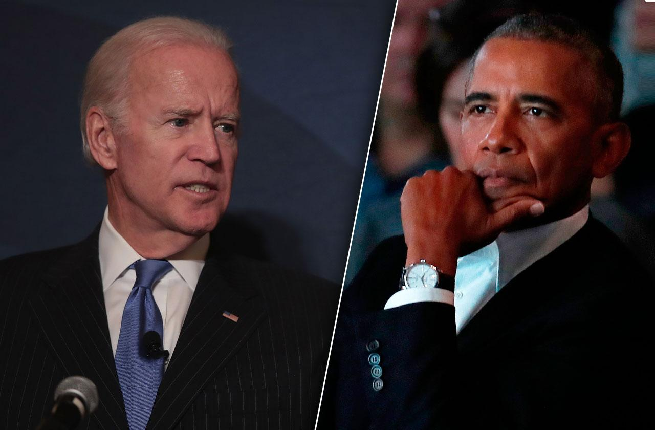 Joe Biden Barack Obama Fights