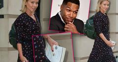 //kelly ripa michael strahan feud live first sighting pp