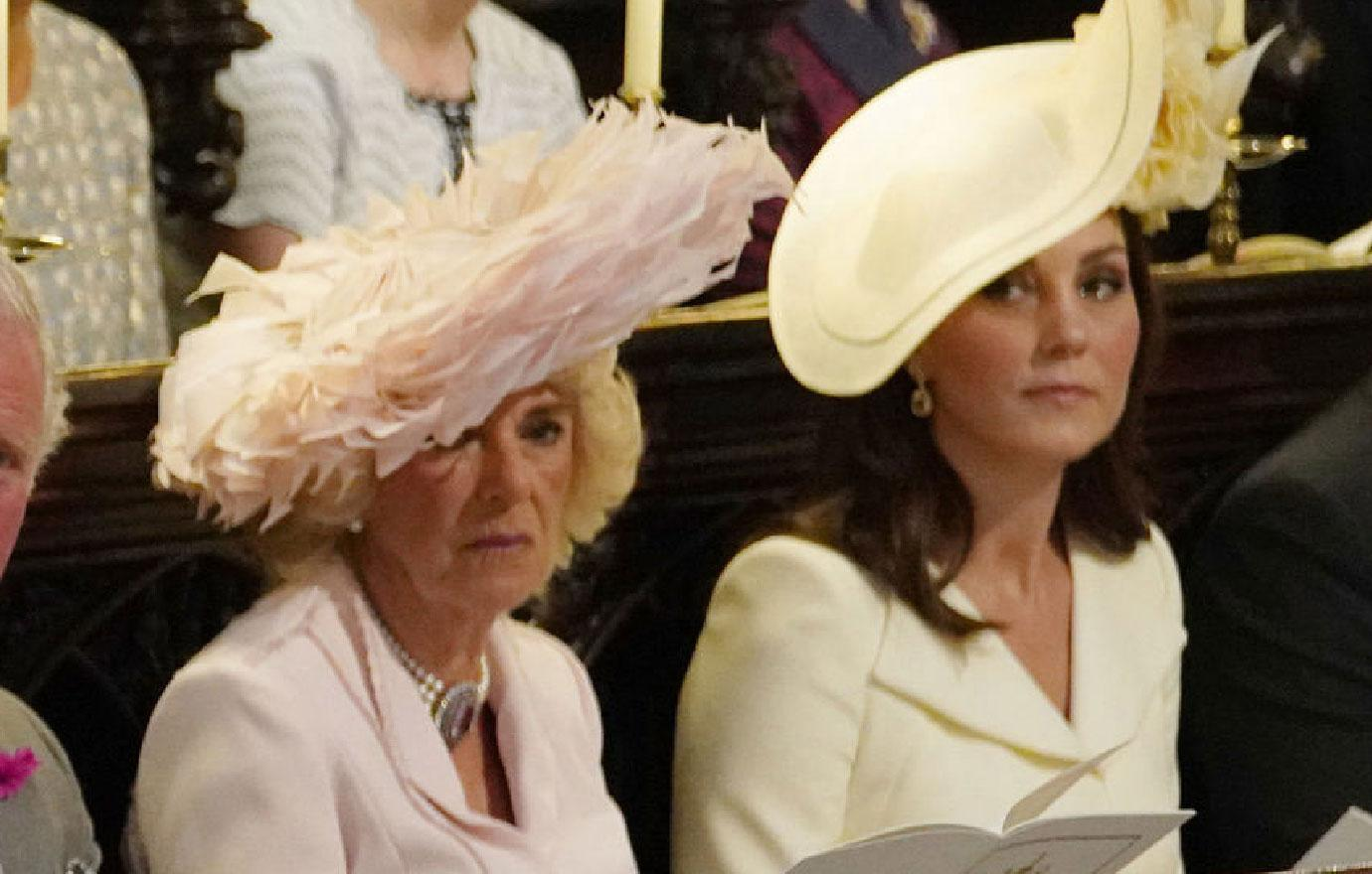 Kate Middleton Gives Stepmom Camilla Side Eye At Wedding