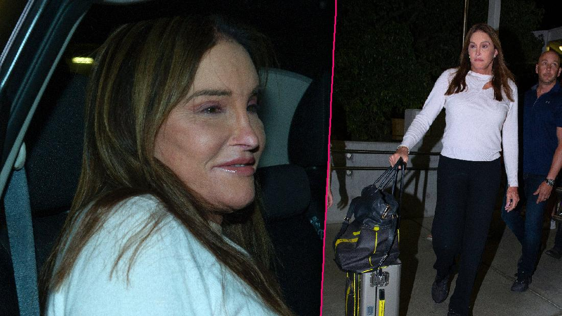 Caitlyn Jenner Arrives For UK I'm A Celeb Filming